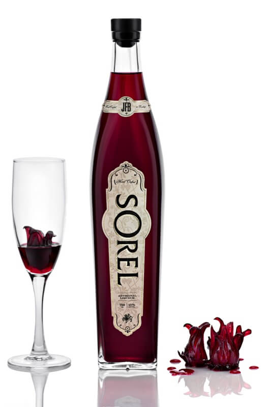 Sorel from Brooklyn is flavored with hibiscus.
