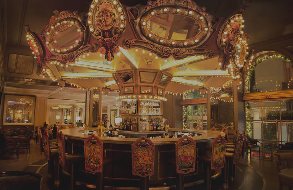 Carousel Bar at the Hotel Monteleone. Photo credit Hotel Monteleone.
