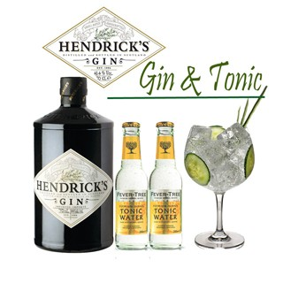 Gin tonic hendrick 39 s cocktail kit cocktail kits for Craft cocktail gift set