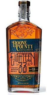Eighteen33 Boone County 10 Years Straight Bourbon Whiskey