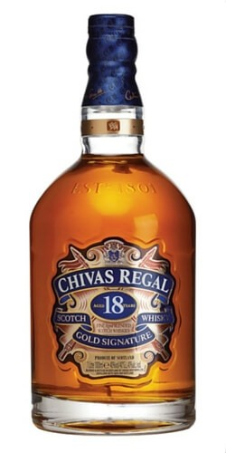 Chivas Regal 18 Year Old Gold Signature Blended Scotch Whisky
