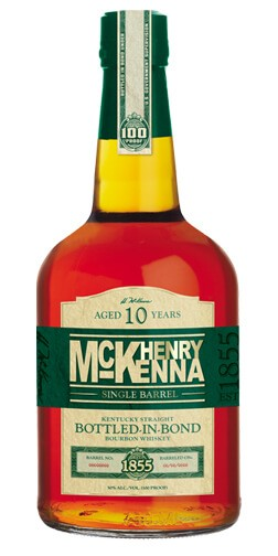 Henry McKenna 10 Year Old Single Barrel Bottled in Bond Bourbon
