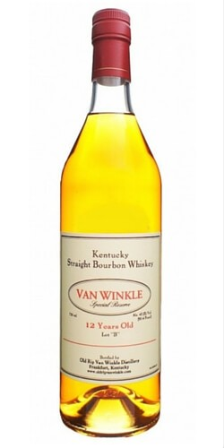 """Van Winkle Special Reserve """"Lot B"""" 12 Year Old Kentucky Straight Bourbon Whiskey"""