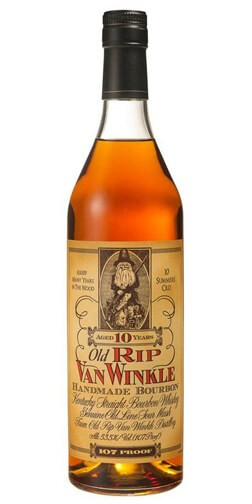 Old Rip Van Winkle 10 Year Old Kentucky Straight Bourbon Whiskey