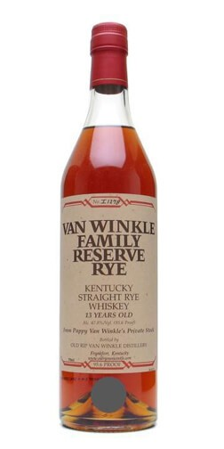 Pappy Van Winkle's Family Reserve 13 Year Straight Rye Whiskey